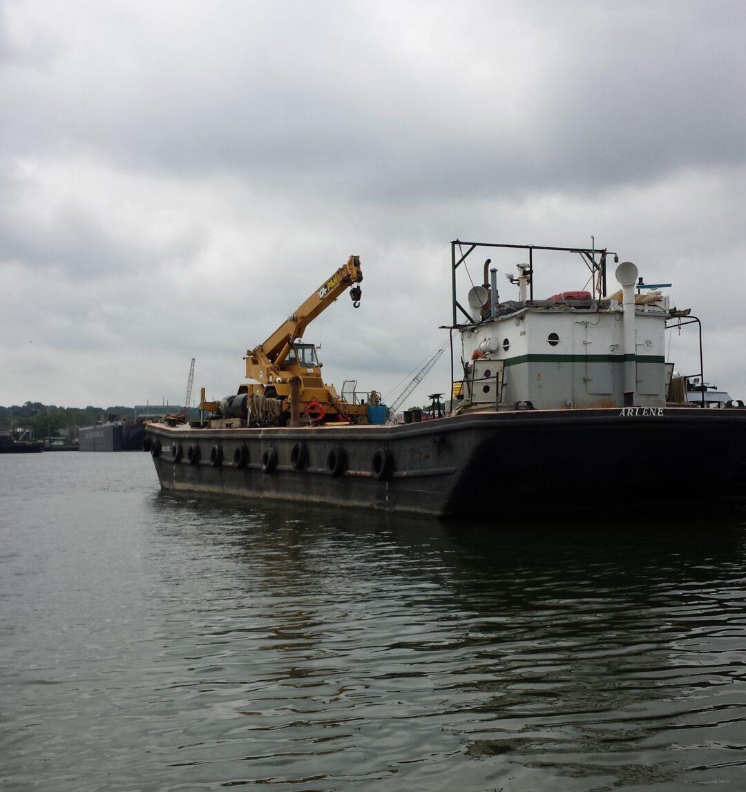 Crane Barge Arlene